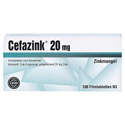 CEFAZINK 20 mg Filmtabletten 100 St