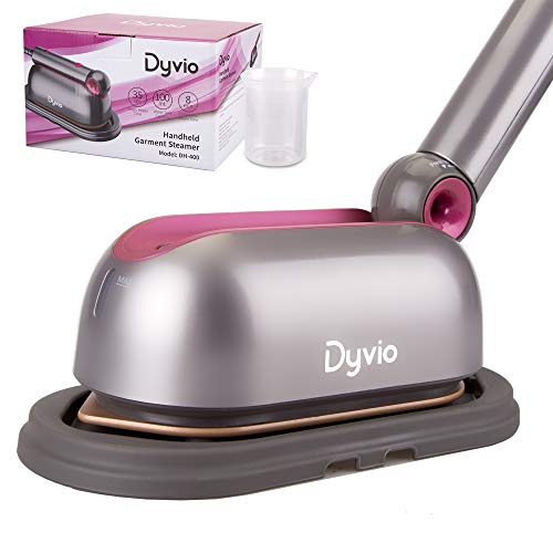 Dyvio Steam Iron, Professional Grade 1000 watt 110V Portable Garment Steamer, Large Anti-Drip Ceramic Soleplate, Steam Control and Vertical Shot, Easy to Carry Very Suitable for Travel and Family