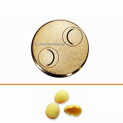 Trafila in bronzo per Pasta Orecchiette per macchina pasta fresca professionale La Fattorina 1,5kg
