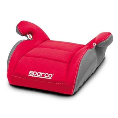 SPARCO SPC3002RS3CM Booster Sitz für Kinder Gruppe III Rot/Grau 3Cm, Red
