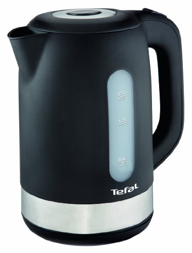 Tefal KO3308 Wasserkocher (2.400 Watt, 1.7 l) schwarz