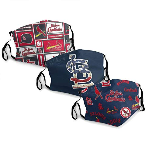 MLB St. Louis Cardinals Adult Dust Mask,Dust Air Filter Protection