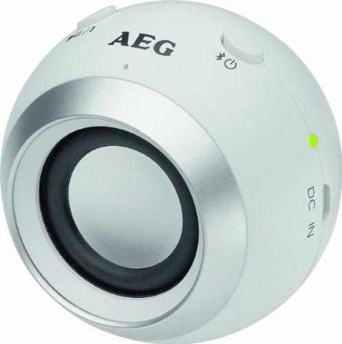AEG BSS 4817 Bluetooth Lautsprecher weiß