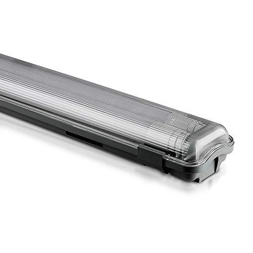 Tubo LED Plafoniera 2 Tubi T8 Lampadina 120Cm O 150Cm Impermeabile