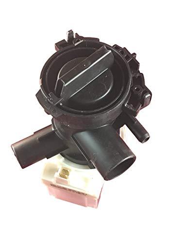 Alternativ Ablaufpumpe Laugenpumpe mit Gehäuse und Flusensieb passend für Bosch Siemens Waschmaschine - 00145212 145212 Copreci KEBS