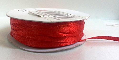 Nastri 0000099006921 Fasce per Dita, Unisex, per Adulti, Rosso, 3 mm x 100 m