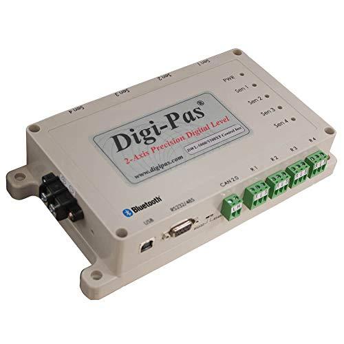 Digi de PAS de Bluetooth caja de control, conector de hasta 4sensores de inclinación al mismo tiempo, adecuado para DWL 5000X y & DWL 5500X y, conexión a través de RS232, RS485, USB o B
