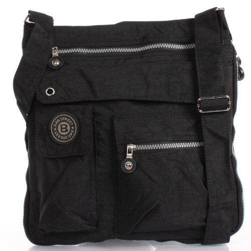 Bag Street Umhängetasche Bodybag Nero