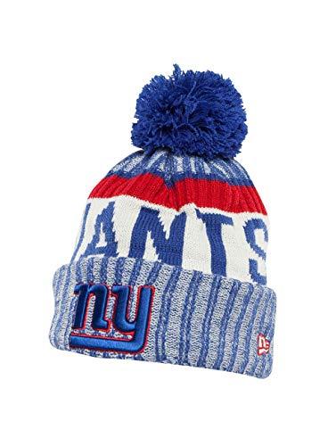 New Era NFL New York Giants Herren Strickmütze Mehrfarbig