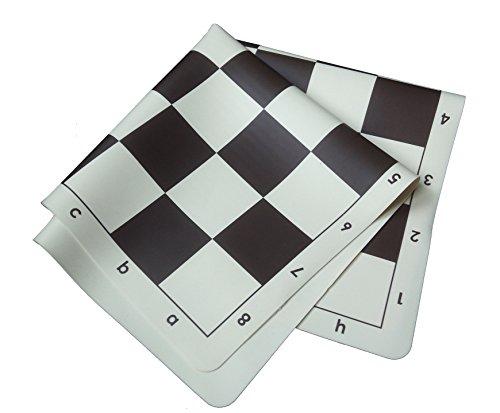 schach queen Jeu d'échecs Vert et Rose 57 mm, E15, Marron/Blanc