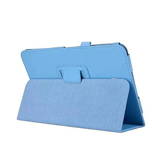 Funda para Lenovo A10-30F TB2 X30L X30F Tablet 10.1 Kids Kickstand PU Leather para Funda para Lenovo Tab 2 A10-30 Funda Capa-Azul