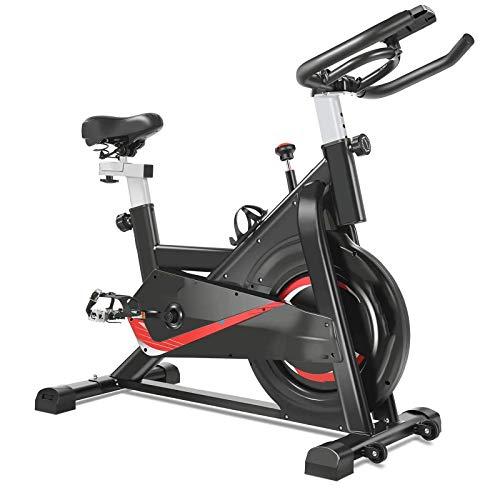 WJFXJQ Bicicleta de Ciclismo Interior Bicicleta estacionaria con Resistencia Entrenamiento Inicio Gimnasio Cardiofitness Máquina Bicicleta Vertical