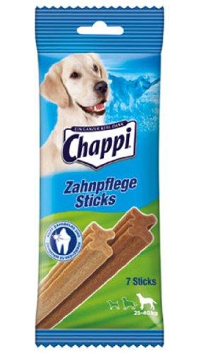 10er Pack Chappi Snack Zahnpflegestick große Hunde 7St.