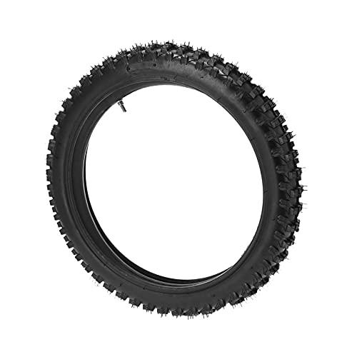 Neumático de motocicleta, neumático de motor Ruedas de scooter Tubo interior de goma Rueda de bicicleta de tierra Reemplazo de neumático para Pit Pro Big Foot Trail Dirt Bike