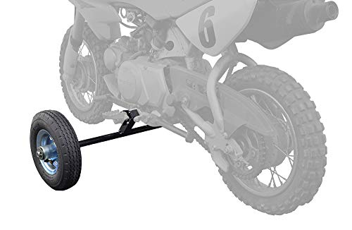"Alvey Training Wheels for 50cc & 70cc Dirt Bikes (Pair of 8"" Pneumatic Wheels)"