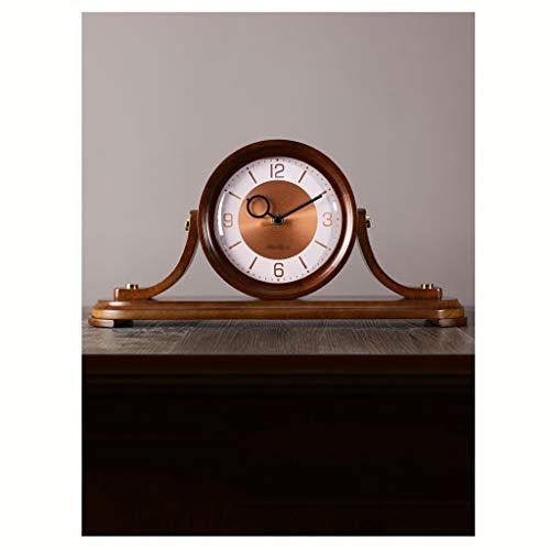 Grandes Relojes de casa creativos Retro Europeos y nuevos Relojes de Escritorio de Sala de Estar Chinos