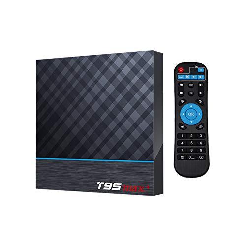 Metermall T95MAX+4GB/64GB Network High Definition Player T95MAX+Android 9.0 TV Box 4GB / 64GB EU Plug