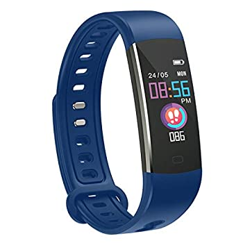 moreFit Fitness Tracker for Kids - Activity Trucker with 4 Sport Modes Hear Rate Monitor Sleep&Step Trucker Boys Girls Alarm Clock for Reminder Best Gift