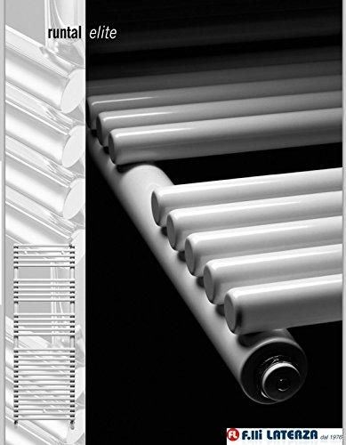 Toallero runtal Modelo Elite LT 120–060blanco Radiador Calefactor