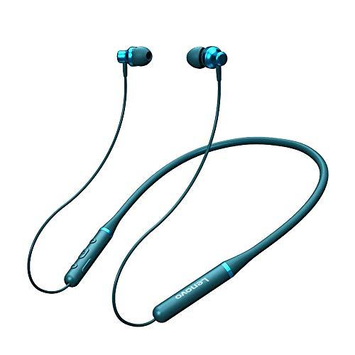 Lenovo XE05 Wireless Bluetooth 5.0 Neckband Headphone Magnetic Waterproof Wired Control in-Ear Earphone with HD Mic