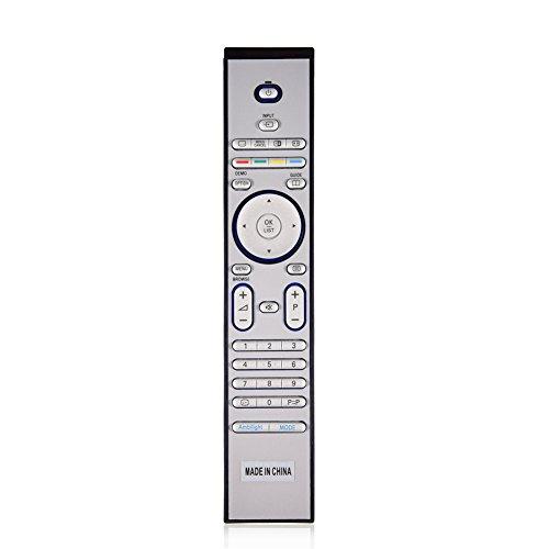 Vbestlife Reemplazo del Control Remoto para Philips RC4401 / RC4401 / RC4404 / RC4420 / RC4703 / RC4725 / RC4729 TV
