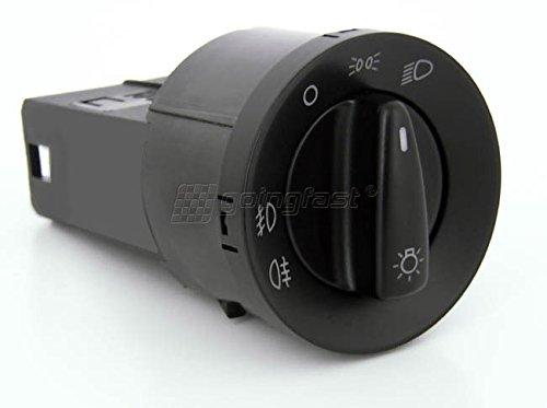Lichtschalter NSW Nebelscheinwerfer Schwarz