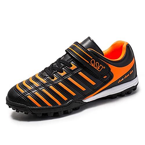 Botas de fútbol para niños Niñas Niñas FG / AG Fútbol Atletismo Zapatos de entrenamiento Deportes Toque Fijación Encaje Up Zapatos Entrenadores de fútbol Zapatos de Fútbol al aire libre Zapatillas de