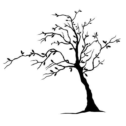 Wiederverwendbare Schablone mit Baum-Motiv, A3, A4, A5 und größere Größen, Wanddekoration, Shabby Chic/T00 (PVC, wiederverwendbare Schablone, A4-Größe – 210 x 297 mm, 21,3 x 29,7 cm)