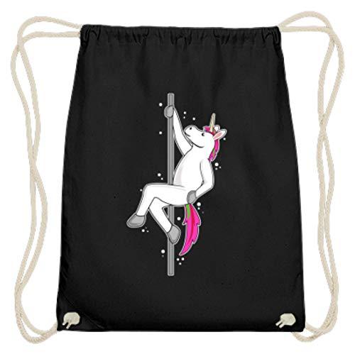 Sexy Pole Dance Unicorn, Einhorn An Der Stange Prinzessin - Schlichtes Und Witziges Design - Baumwoll Gymsac