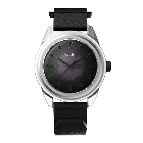 AWAKE ELT04 - Reloj solar para hombre, fabricado en Biopoly, resistente al agua, 50 m, marca francesa, solo 29 gramos