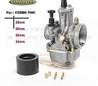 カートレーシング new モデルオートバイ 4 t エンジンキャブレター carburador 28 30 32 34 ミリメートル電源ジェット ホンダヤマハレーシングモーター-32mm