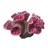 mingsheng Decoración, 1 pieza de polirresina coral ornamental para acuario, decoración de acuario, 3,94 x 3,54 x 2,16 pulgadas