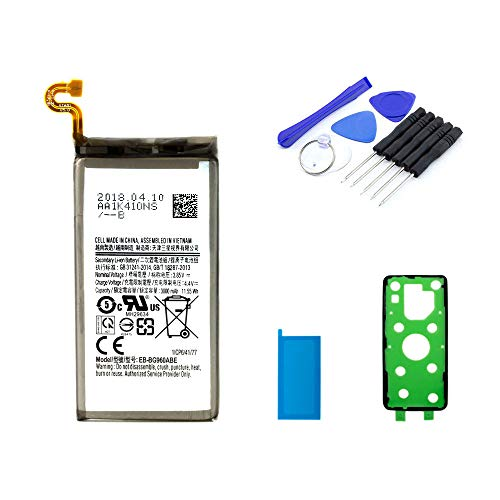Akku kompatibel mit Samsung Galaxy S9 inkl. Werkzeugset | 3000mAh | DIY Reparaturset
