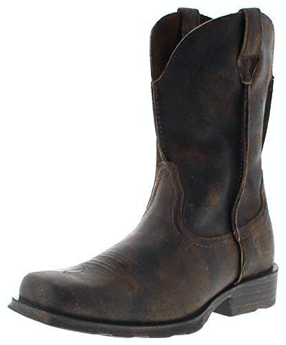 Ariat Herren Cowboy Stiefel 25171 Rambler Westernstiefel Braun 45 EU