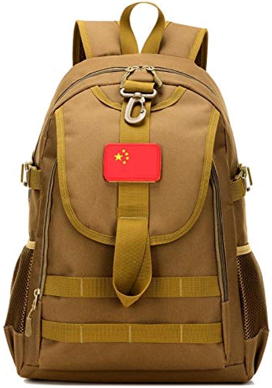 Groe Kapazitt Mnner Frauen Sport Wandern Camping Tasche Reisen Trekking Tasche Militrische Taktische Rucksack Camouflage Ruckscke 20L Khaki