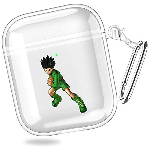 huijiameikeji gon Freecss j Stars Victory vs Rock Paper Scissors Hunter Hunter hiei Transparent Shell Case Cover For Funda AirPods 1/2 XTBD-225