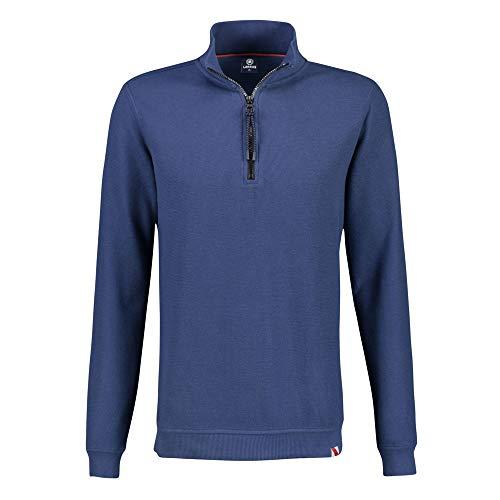 LERROS Herren Basic Sweattroyer Sweatshirt, Storm Blue, XXL