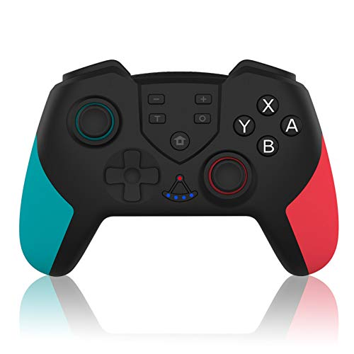 RUIZHI Controller für Nintendo Switch/Switch Lite,Switch Controller mit Programmierbare und Turbo Funktion,Gamepad mit 6-Gyro Achse Joypad Joystick für Switch/Switch Lite/PC