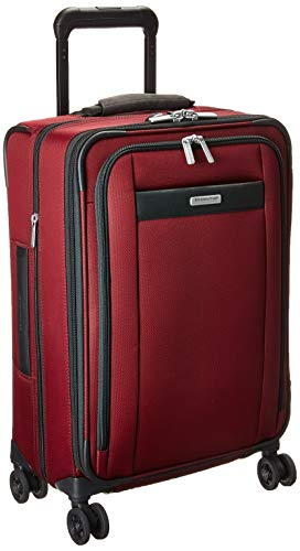 Briggs & Riley Transcend-Softside Carry-On Spinner Luggage, Merlot