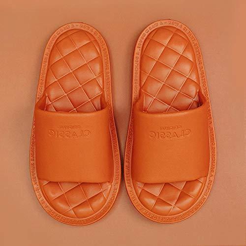 Nwarmsouth Zapatillas de Masaje de pies, Zapatillas de baño, Sandalias Antideslizantes de Suela Blanda, Color Caramelo_37-38, Deslizamiento en Diapositiva