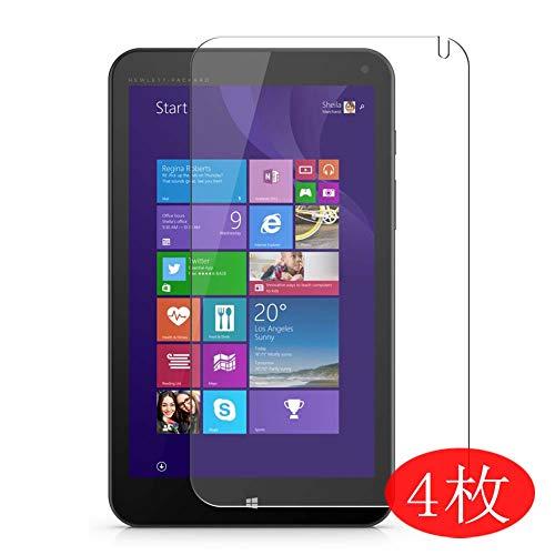 VacFun 4 Piezas HD Claro Protector de Pantalla para HP Stream 8 Tablet 5901tw 8