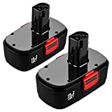 2 Pack Upgraded 3.6Ah Replacement for Craftsman 19.2 Volt Battery C3 DieHard 130279005 130279003 130279017 315.115410 315.113753 315.11485 1302350211323903 1323517 120235021 11375 11376