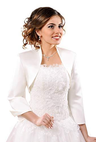 Bolero bruidsjack voor bruidsjurk/bruiloftsjurk - NG55-S