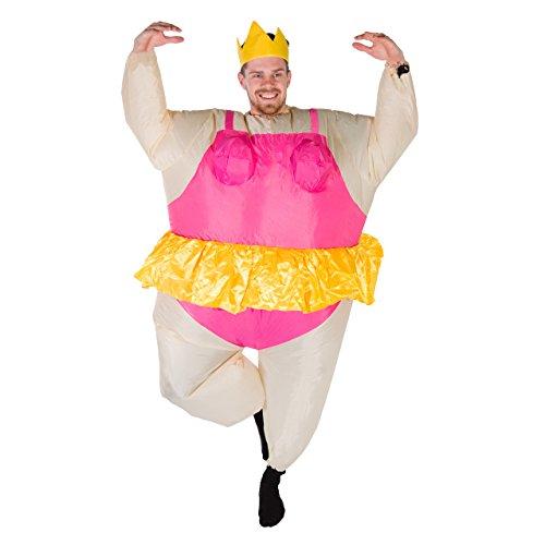 Bodysocks® Disfraz Hinchable de Bailarina Adulto