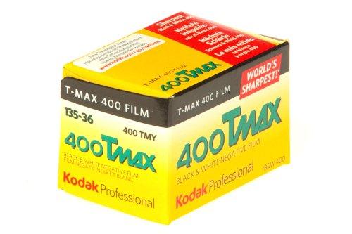 Kodak 400 TMAX Professional ISO 400, 36 mm, 36 exposições, filme preto e branco