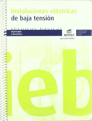 Instalaciones eléctricas de baja tensión (Ciclos Formativos)