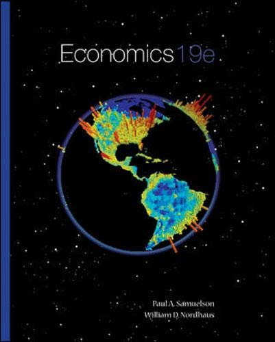 Compare Textbook Prices for Economics 19th Edition ISBN 9780073511290 by Samuelson, Paul,Nordhaus, William