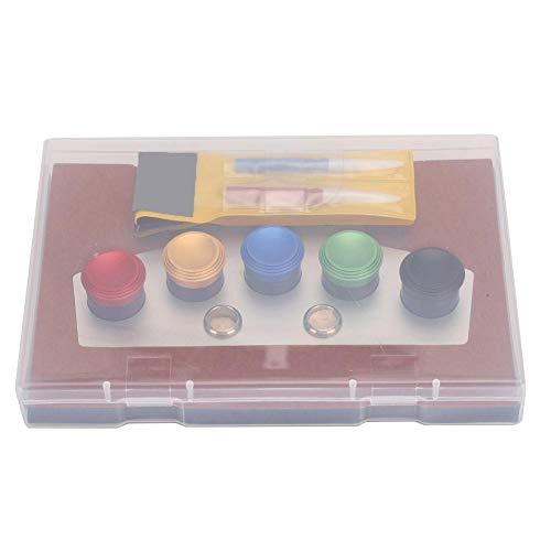 Kit De ReparacióN De Relojes De Metal Reloj Engrasador Reloj Herramienta De InmersióN De Aceite Accesorio De ReparacióN De Relojes para Relojeros(02)