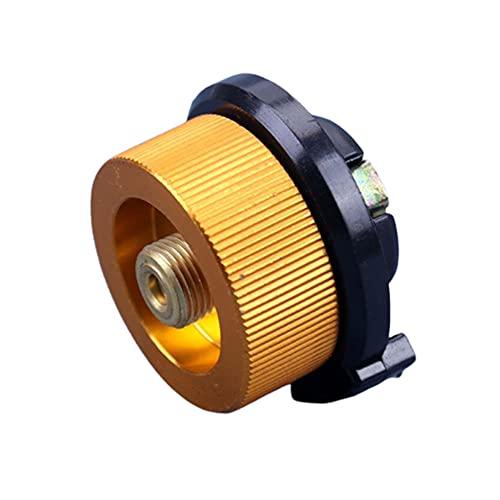 ATIN El conector al aire libre del horno del convertidor del adaptador del camping para el gas butano puede dividir
