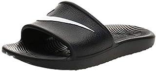 Nike Womens Kawa Sport Shower Slide Sandals Black/White (9)